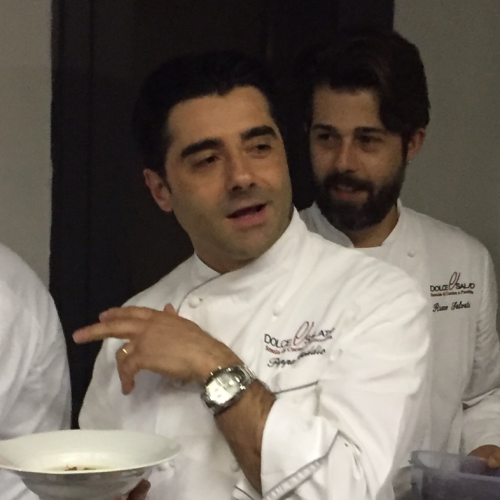 Terra nera, lo show cooking Peppe Daddio a Cautano