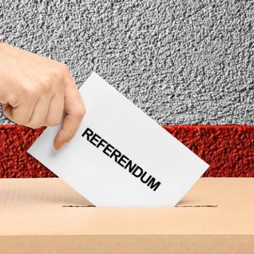 Referendum Notriv, un Si per ragionare sul  futuro, senza la demagogia del presente