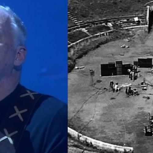 David Gilmour torna a Pompei!