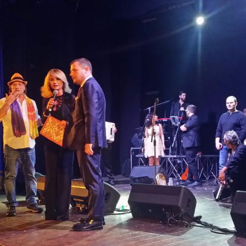 Guido Lembo a Caserta per solidarietà