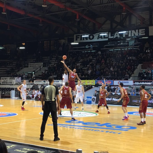 La Pasta Reggia perde per 82-87 con la Grissin Bon