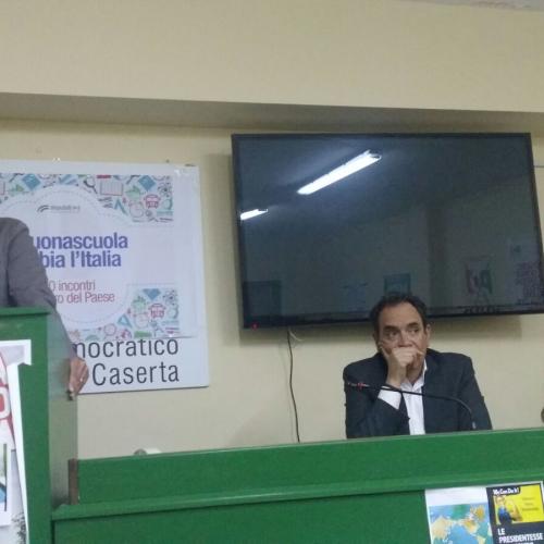 Pd, Enrico Tresca nuovo segretario cittadino a Caserta