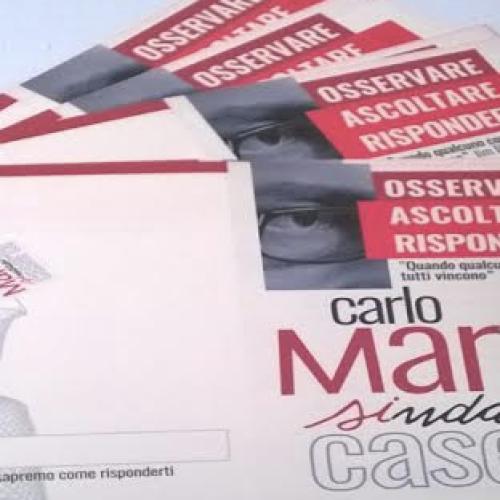 Marino: No alla battaglia dei manifesti. Pensiamo a una campagna elettorale diversa