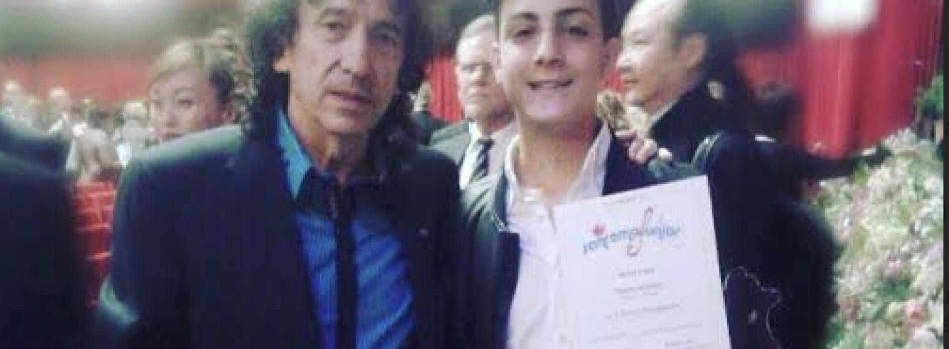 Dario Tartaglione trionfa alla finale internazionale di Sanremo Junior