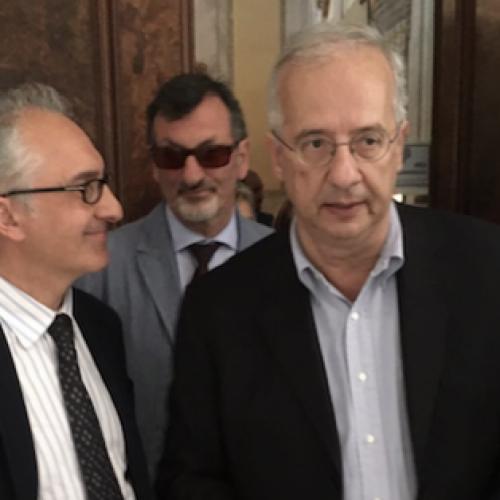 Carlo Marino incontra Walter Veltroni