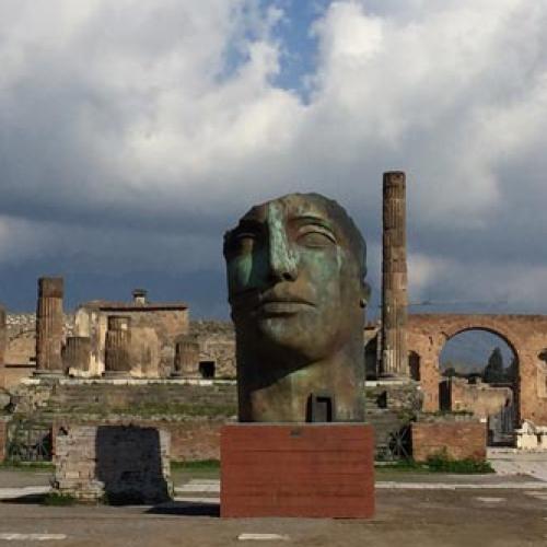 Le opere di Igor Mitoraj in mostra agli scavi di Pompei