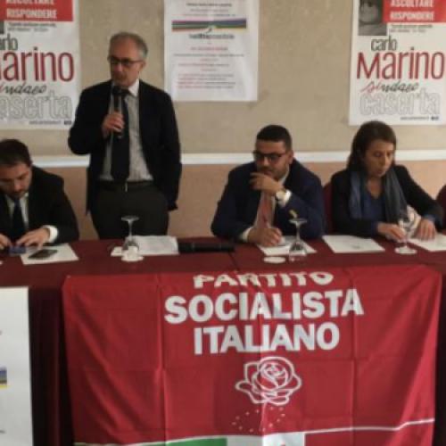 Marino incontra il viceministro alle Infrastrutture e ai Trasporti, Riccardo Nencini