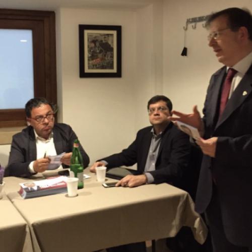 Il ministro Martina a Caserta mercoledì prossimo.L'annuncio all'iniziativa di Battarra