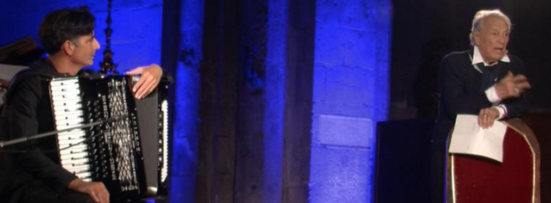 Un saluto commosso a Giorgio Albertazzi, protagonista a Caserta e nel mondo