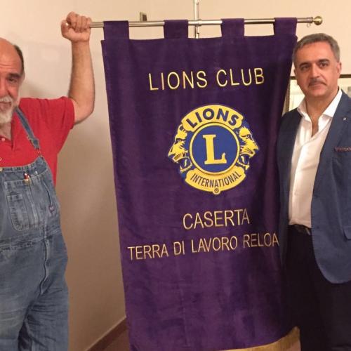 Lo chef di Gambero Rosso Giorgione in cucina per il Lions Club Caserta Terra di Lavoro