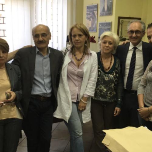 Marino incontra la Cgil e firma il progetto di legge per la Carta dei Diritti Universali del Lavoro