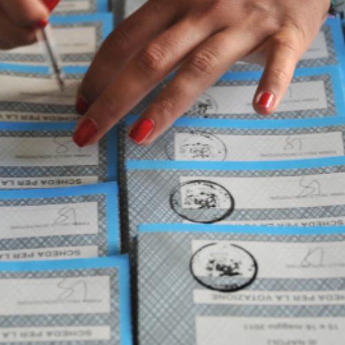 Caserta al voto. Marino sfiora la vittoria al primo turno. Affluenza del 71,1%
