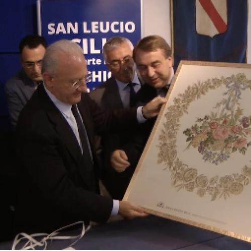 Siti Borbonici e seterie di San Leucio: presentato il marchio di tutela della produzione