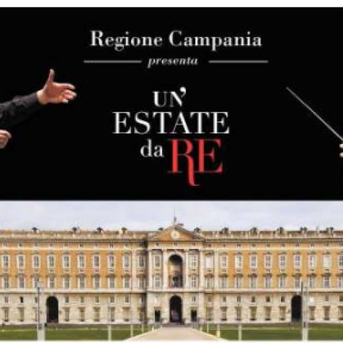 A Caserta l'estate è da re. Tre date con la grande musica alla Reggia