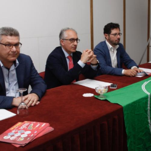 Marino incontra il consigliere regionale dei Verdi, Francesco Emilio Borrelli