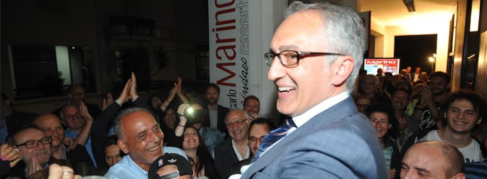 """Carlo Marino è sindaco di Caserta. """"Provo una gioia indescrivibile"""""""