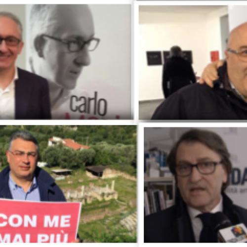 Il centro-sinistra vince in provincia di Caserta. Crollo di Forza Italia