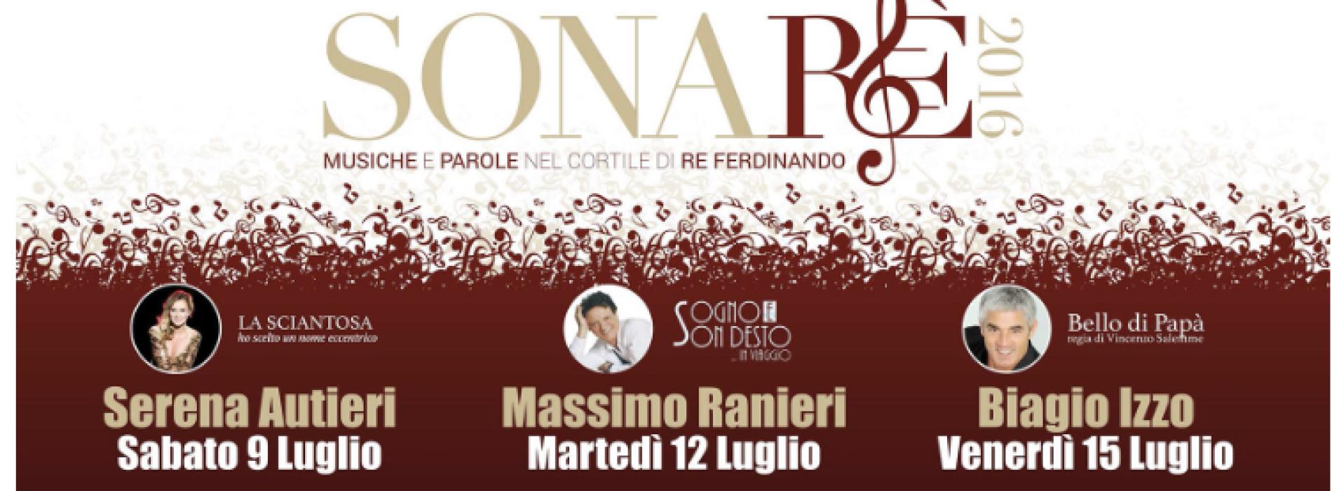 Sonarè Festival 2016. Musica e teatro al Belvedere di San Leucio