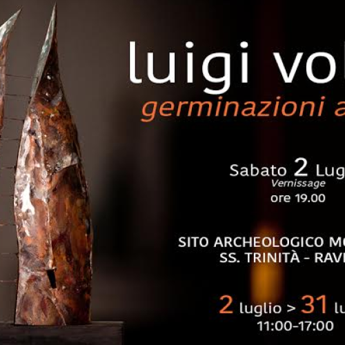 Luigi Vollaro a Ravello con Germinazioni archetipe