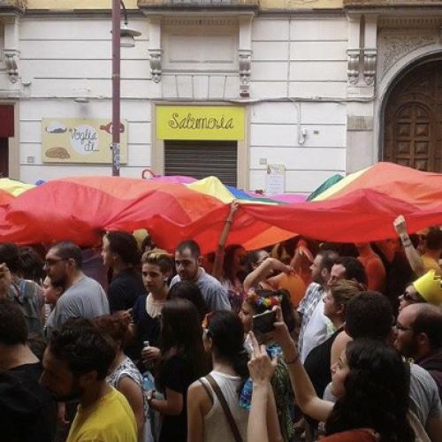 """Il Caserta Campania Pride invade la città. Il sindaco Marino: """"Stop alle polemiche"""""""