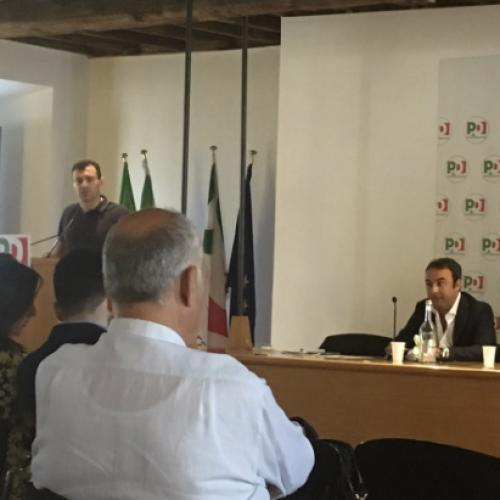 A Roma l'Assemblea Nazionale di Lab Dem. Gianni Pittella interviene da leader europeo