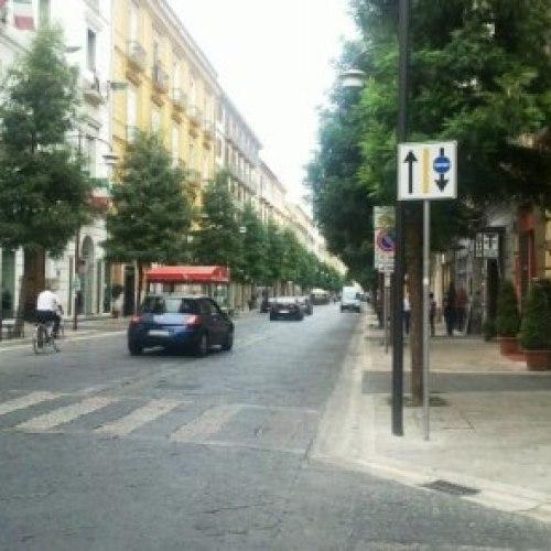 Ztl Caserta. Ripristinato il display in corso Trieste, all'angolo con via Colombo