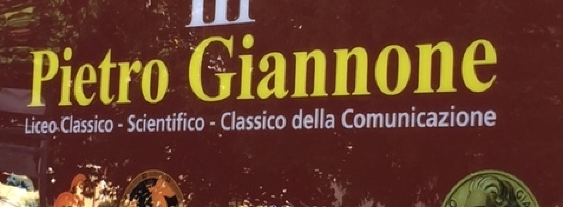 Al liceo Giannone di Caserta il Premio di Cultura della Dante Alighieri