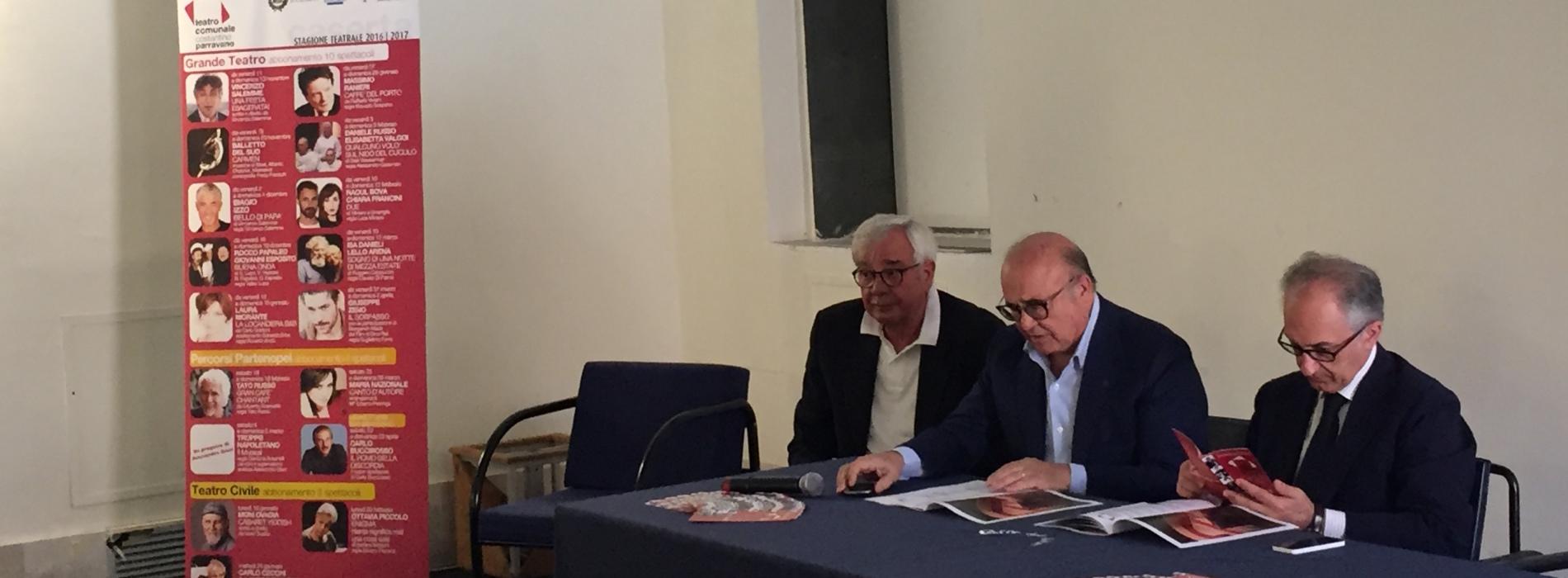 Nuova stagione teatrale a Caserta tra novità e ritorni