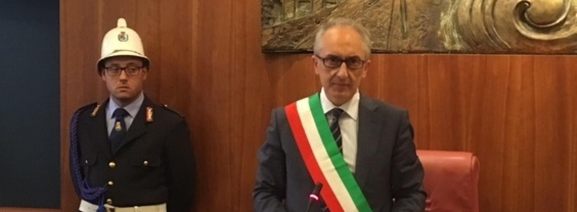 Primo consiglio comunale a Caserta. Ecco la giunta presentata da Carlo Marino