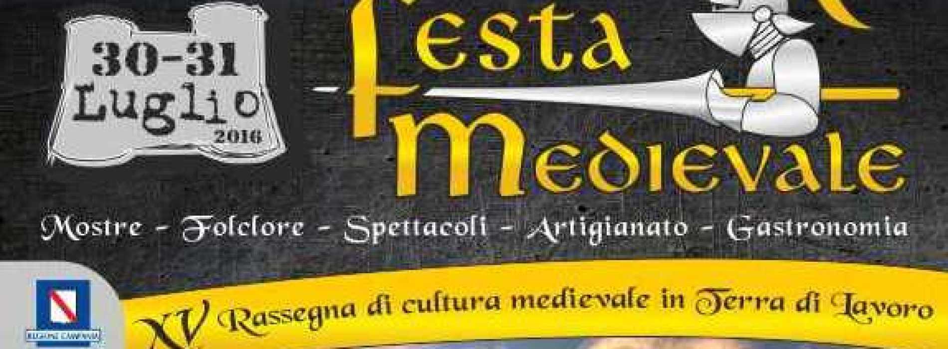 Festa Medievale a Vairano Patenora. Appuntamento a fine luglio
