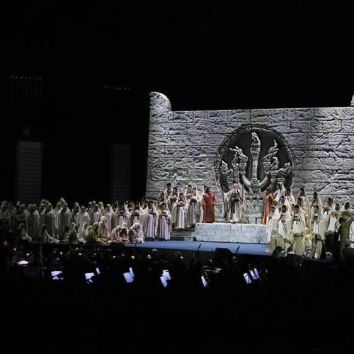 """""""Nabucco"""" atto secondo. Si replica alla Reggia di Caserta l'opera verdiana"""