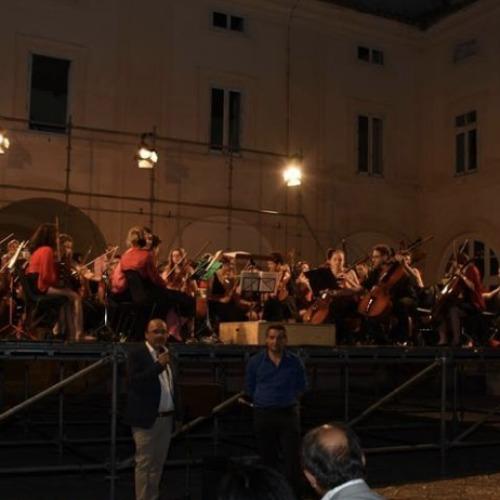Da Ginevra a Caserta per suonare tutti insieme nel Belvedere di San Leucio