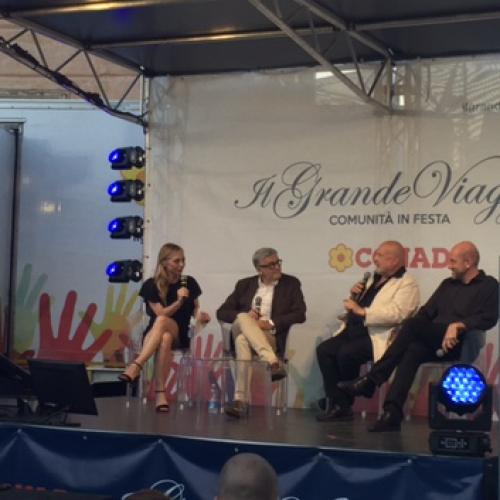 Il sindaco Marino al Radici Fest e alla manifestazione Il Grande Viaggio