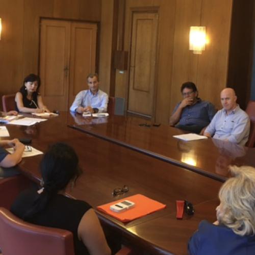 Caserta. L'assessore Borrelli incontra i dirigenti scolastici
