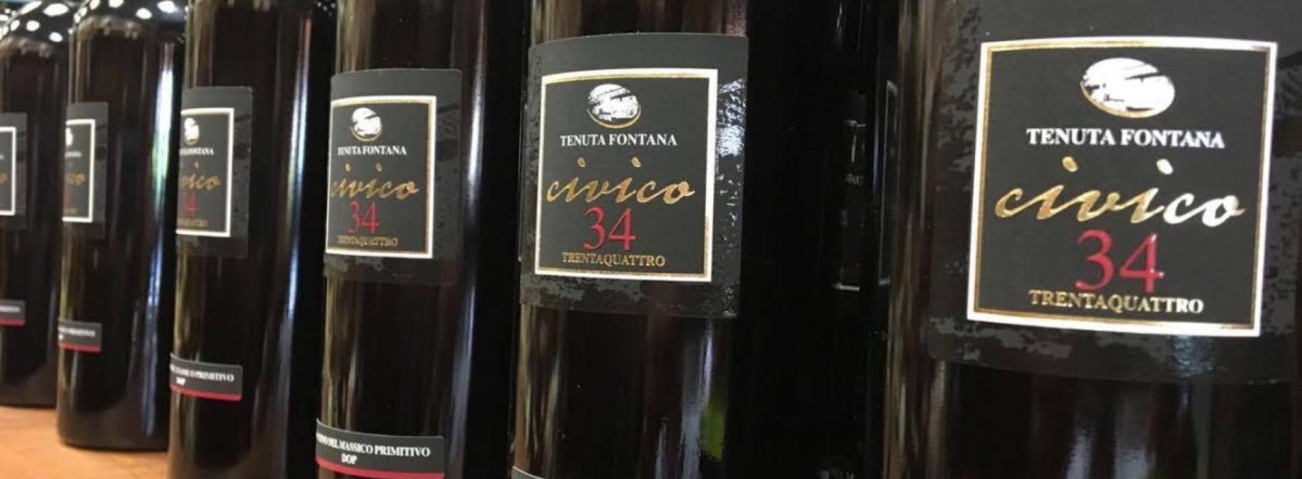 I vini di Tenuta Fontana in tavola a Casa di Miss Italia