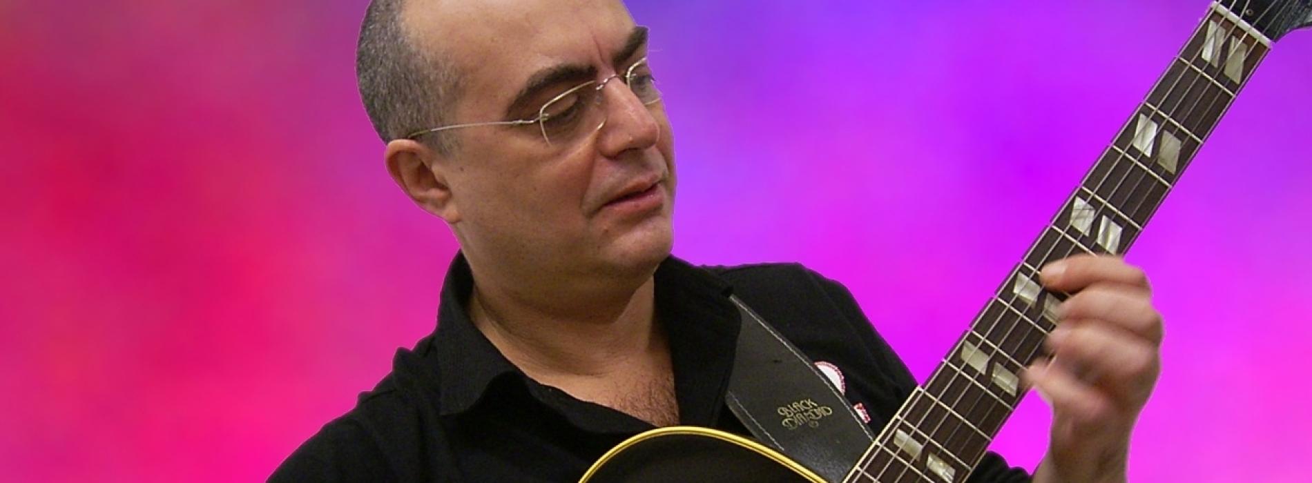 Solidarietà a suon di jazz, Pietro Condorelli star al Belvedere