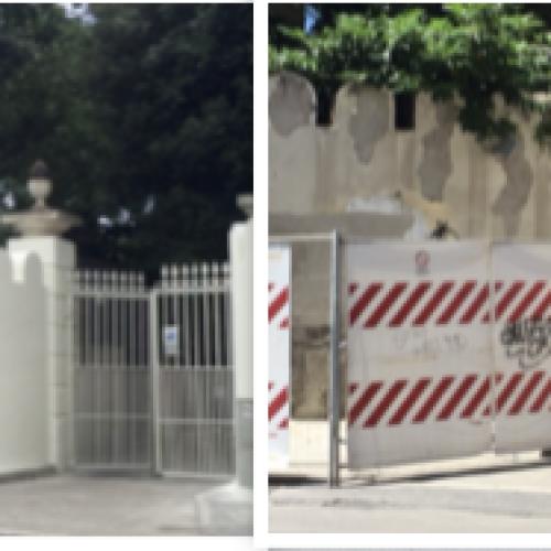 Reggia di Caserta, nuovo look per il varco di Corso Giannone