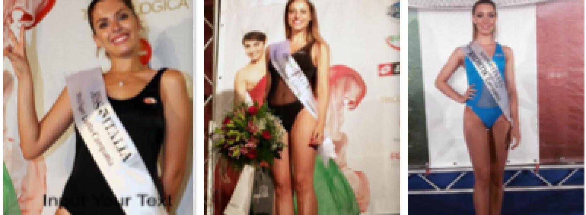 Miss Italia, le tre casertane pronte per sbarcare a Jesolo