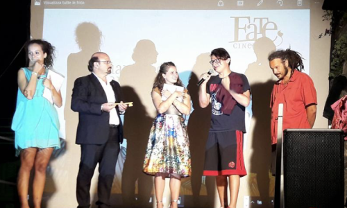 Fate Cinema 2016. Antonio De Lellis il vincitore