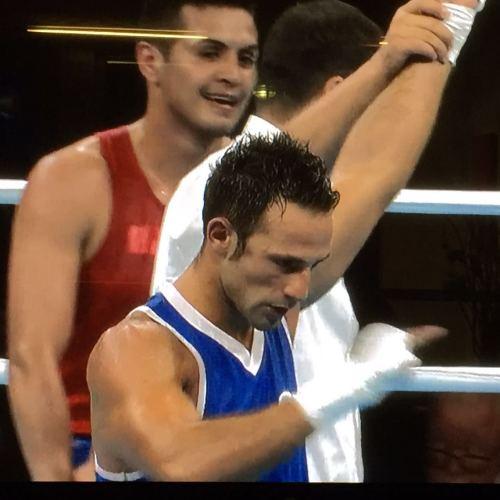 Vince Mangiacapre, ma l'avventura olimpica finisce