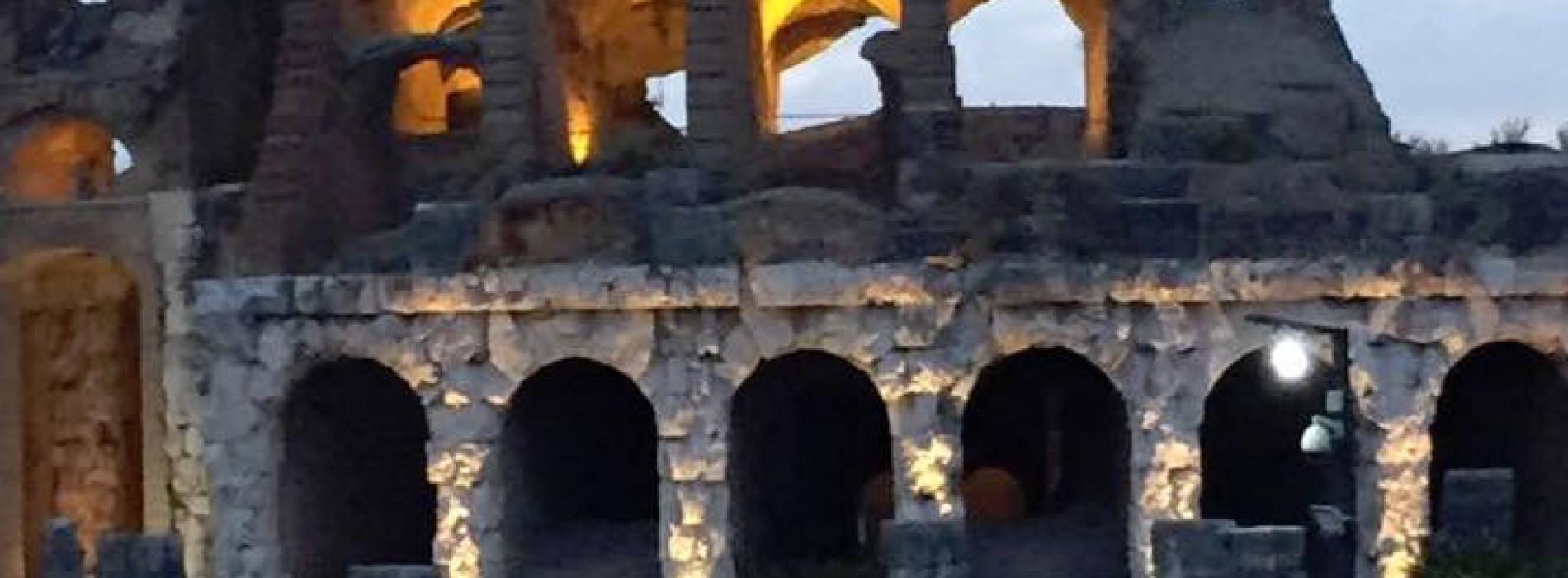 San Lorenzo all'Anfiteatro Campano con la Notte dei Desideri