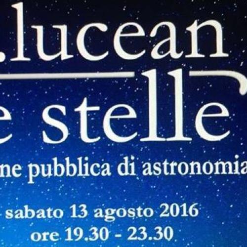 """""""…lucean le stelle"""", appuntamento al Parco della Reggia"""