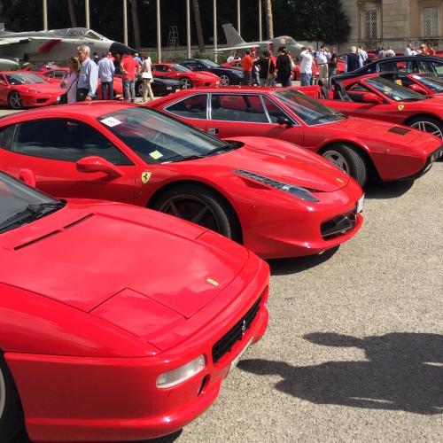 Le Ferrari in pista per l'Unicef