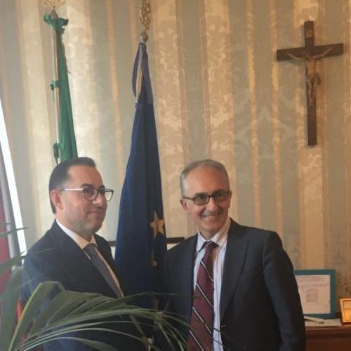 Pittella incontra Marino. L'Europa è vicina