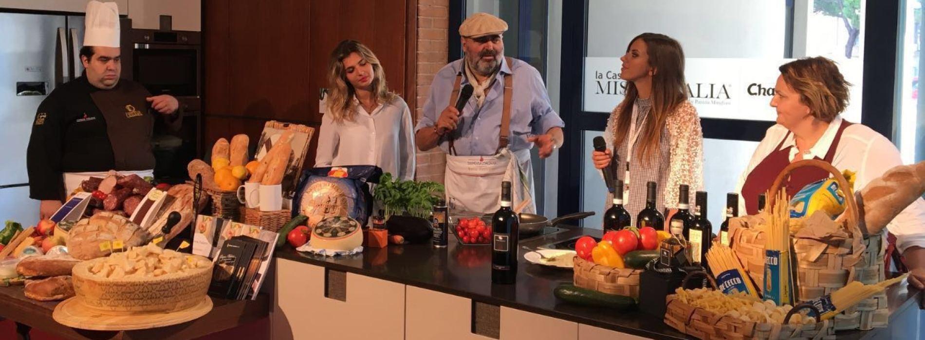 Tenuta Fontana a Jesolo. Cooking show con miss