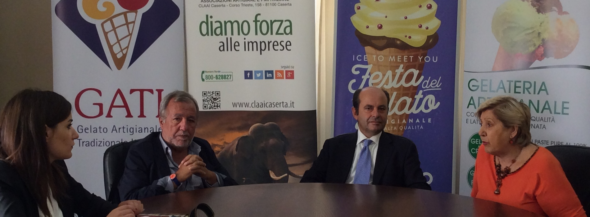 Festa del gelato. Dolce week end a Caserta