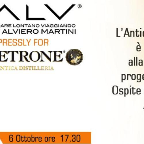 La Guappa fashion, Alviero Martini firma i liquori Petrone