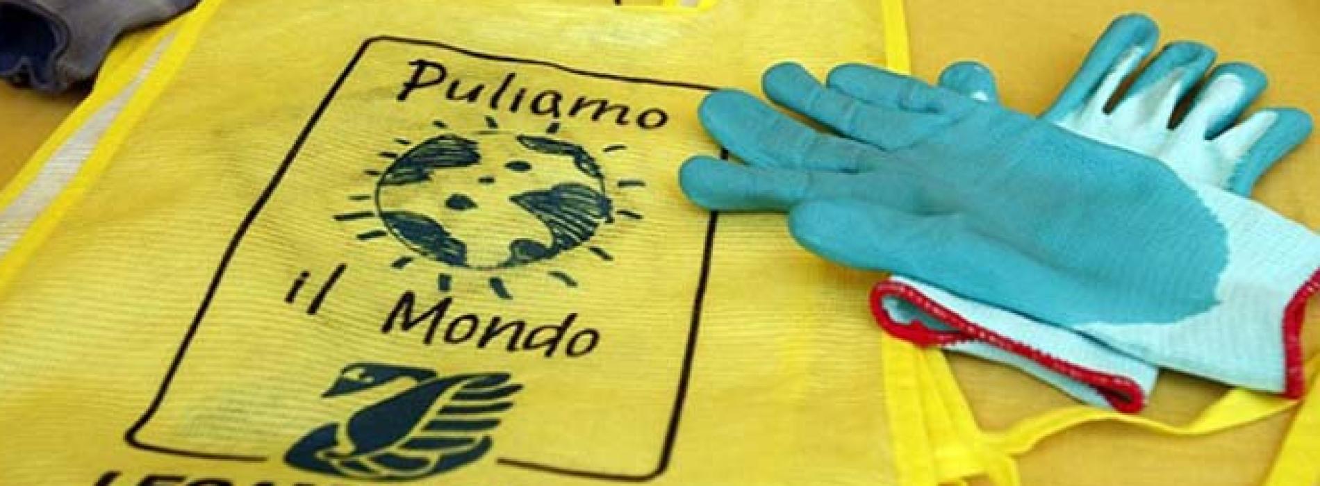 Puliamo il mondo, a Caserta si parte da villetta Padre Pio