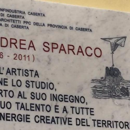 Una targa per ricordare Andrea Sparaco