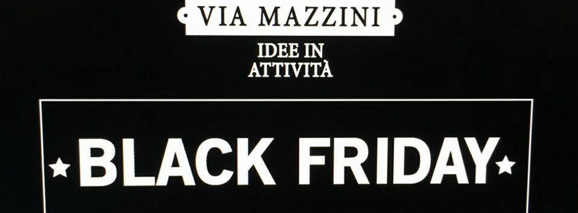 I Love Shopping? No problem, Black Friday in via Mazzini